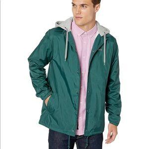 VANS RILLEY Men's Hooded Jacket Green